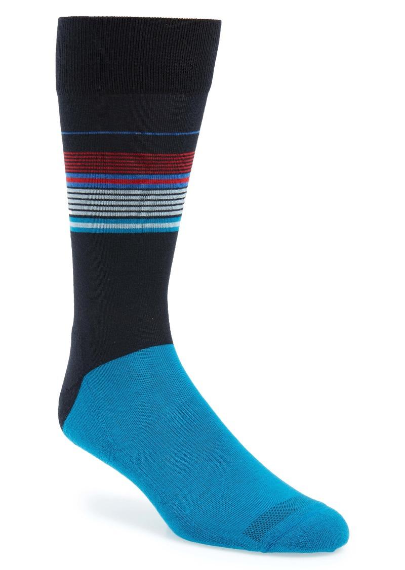 Nordstrom Men's Shop Multitrack Stripe Socks (Any 3 for $30)