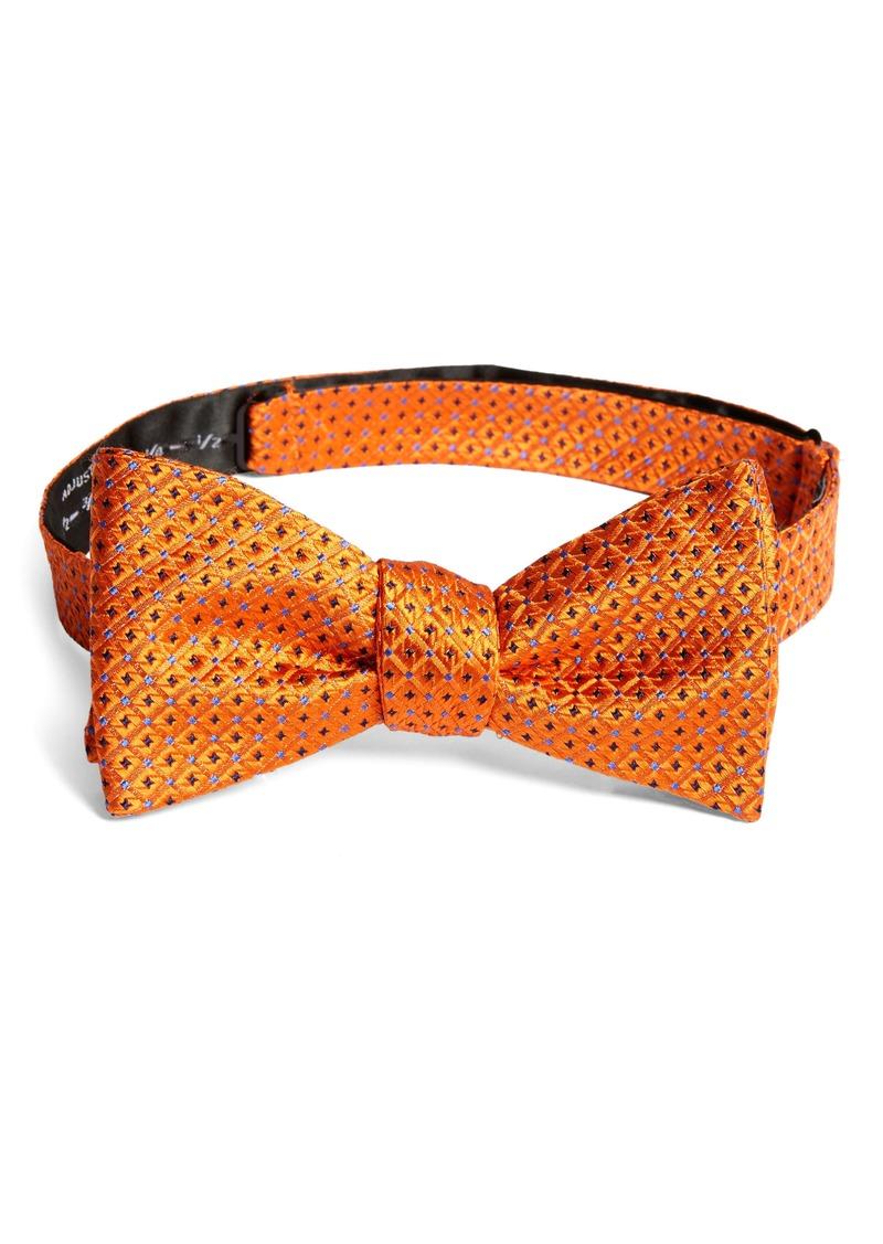 Nordstrom Men's Shop Namara Check Silk Bow Tie