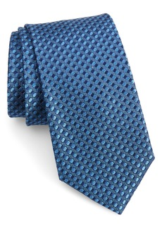 Nordstrom Men's Shop Nathan Check Silk Tie (X-Long)
