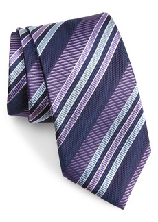 Nordstrom Men's Shop Nathan Check Silk Tie (X-Long)