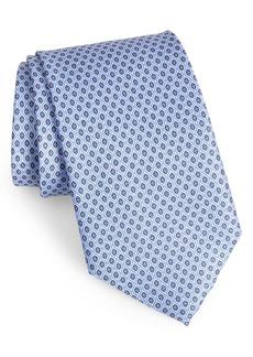 Nordstrom Men's Shop Neat Silk X-Long Tie