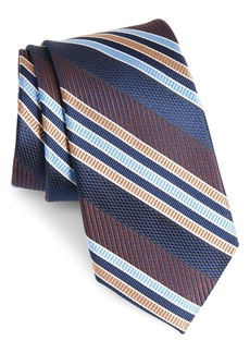 Nordstrom Men's Shop Northwest Stripe Silk Tie
