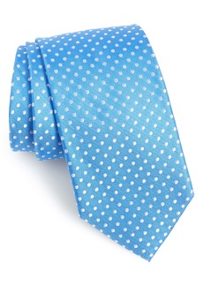 Nordstrom Men's Shop Norton Dot Silk X-Long Tie