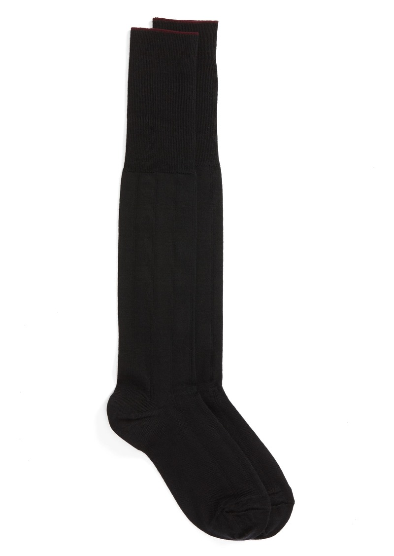 Nordstrom Men's Shop Over the Calf Wool Dress Socks