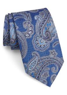 Nordstrom Men's Shop Paisley Silk X-Long Tie