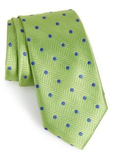Nordstrom Men's Shop Party Dot Silk Tie