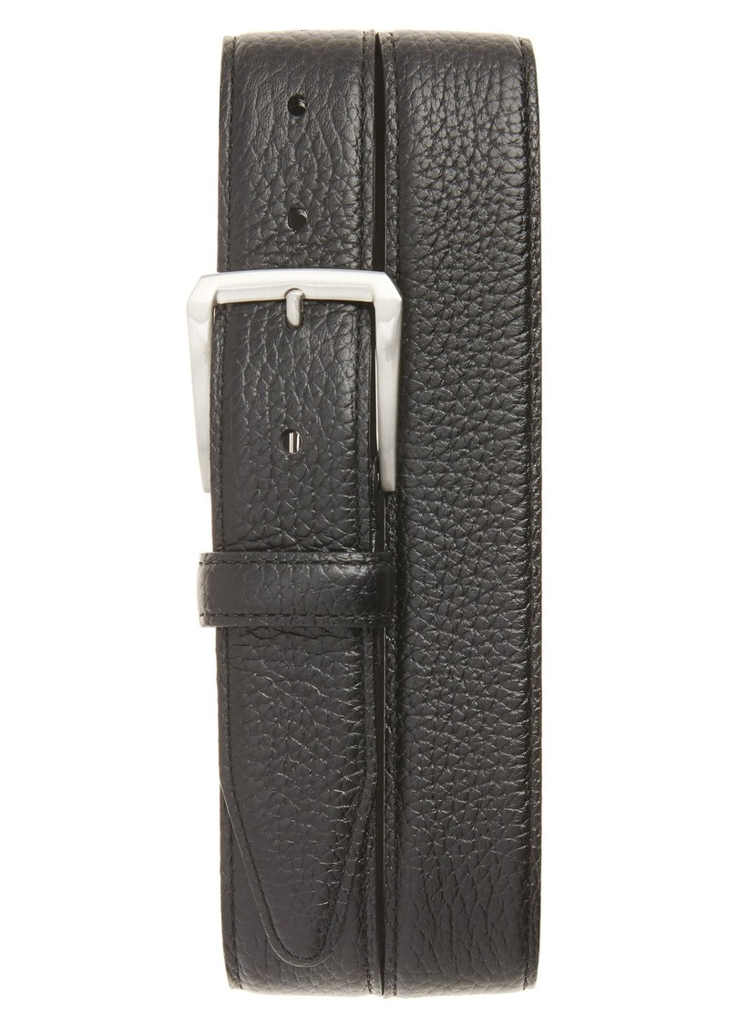 Nordstrom Men's Shop Pebbled Leather Belt