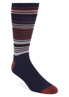 Nordstrom Men's Shop Pencil Stripe Socks (3 for $30)