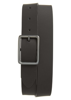 Nordstrom Men's Shop Peter Rubberized Leather Belt