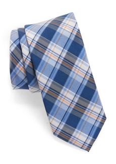 Nordstrom Men's Shop Plaid Silk & Cotton Tie