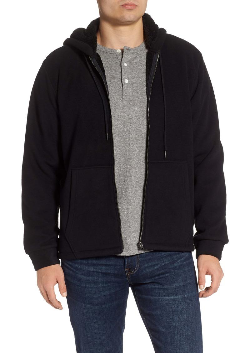 Nordstrom Men's Shop Polar Fleece Zip Hoodie
