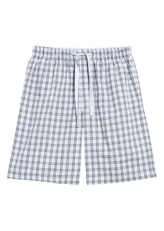 Nordstrom Men's Shop Poplin Lounge Shorts