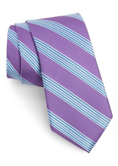 Nordstrom Men's Shop Porchside Stripe Silk Tie