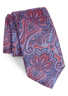 Nordstrom Men's Shop Printemps Paisley Silk Tie