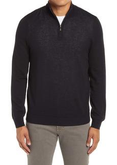Nordstrom Men's Shop Quarter Zip Cashmere Sweater