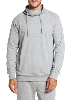 Nordstrom Men's Shop Quilted Funnel Neck Pullover