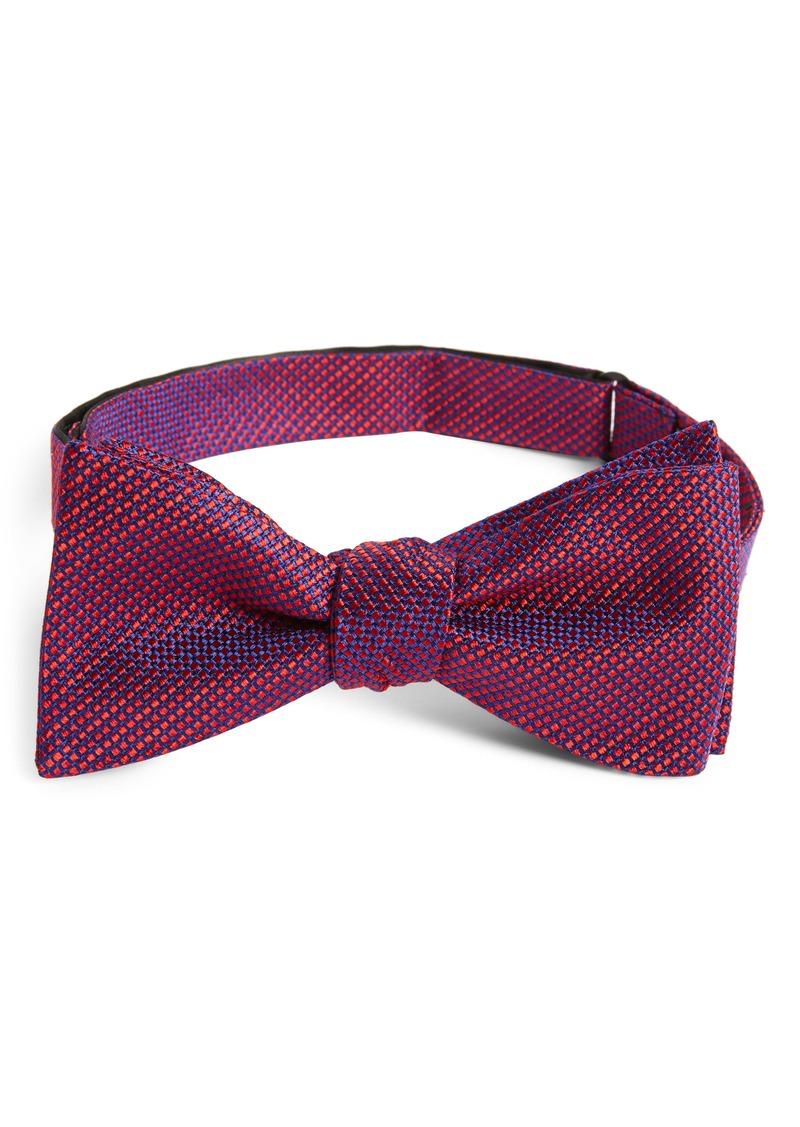 Nordstrom Men's Shop Ravin Dot Silk Bow Tie