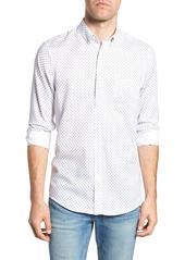 Nordstrom Men's Shop Regular Fit Dobby Print Sport Shirt