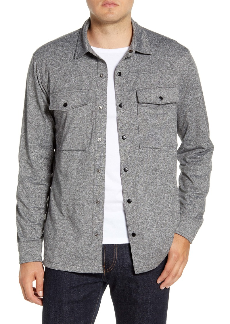 Nordstrom Men's Shop Regular Fit Knit Shirt Jacket