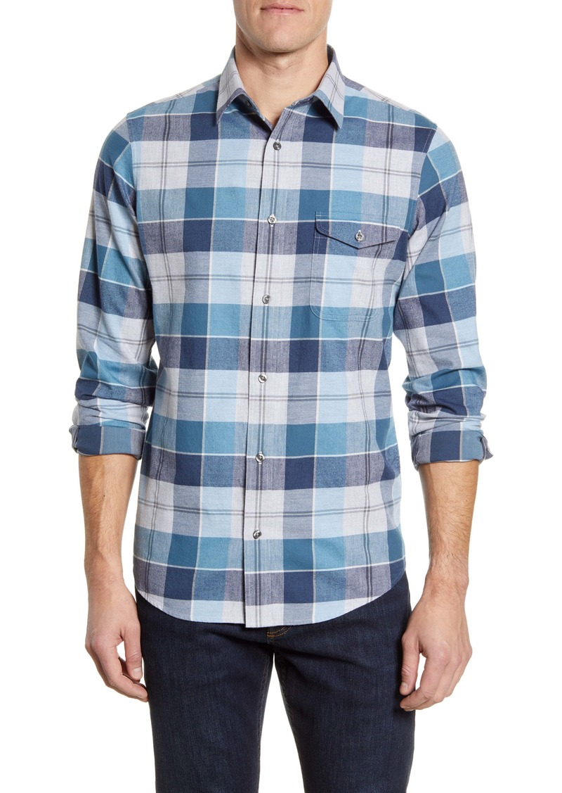 Nordstrom Men's Shop Regular Fit Lumberjack Check Button-Up Shirt
