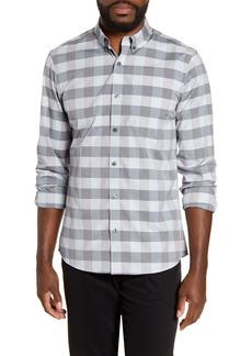 Nordstrom Men's Shop Slim Fit Non-Iron Check Button-Down Shirt
