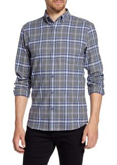 Nordstrom Men's Shop Regular Fit Plaid Button-Down Shirt
