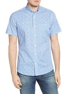 Nordstrom Men's Shop Regular Fit Short Sleeve Button-Down Shirt