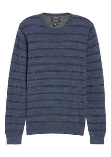 Nordstrom Men's Shop Regular Fit Stripe Cotton & Cashmere Sweater