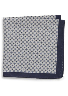 Nordstrom Men's Shop Reversible Silk & Cotton Pocket Square