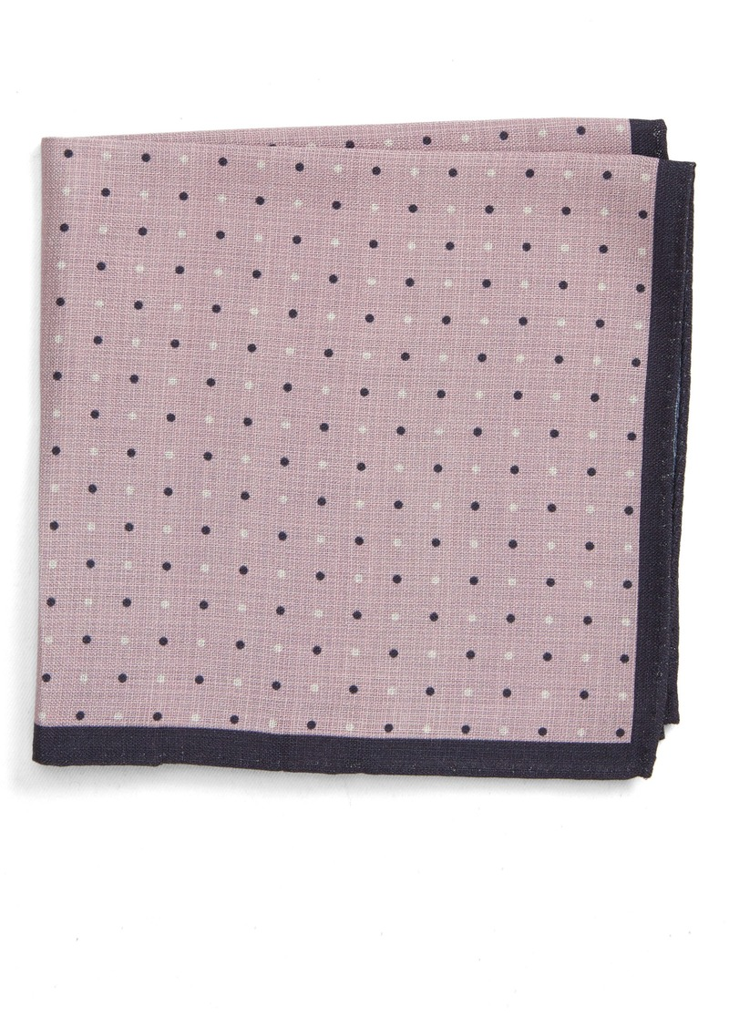 Nordstrom Men's Shop Reversible Silk Pocket Square