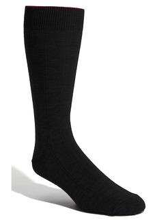 Nordstrom Men's Shop Rib Wool Blend Socks (Men) (3 for $30)
