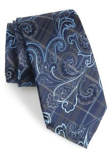 Nordstrom Men's Shop Riscal Paisley Silk Tie (X-Long)