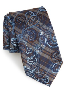 Nordstrom Men's Shop Riscal Paisley Silk Tie (X-Long)