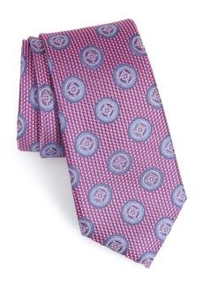 Nordstrom Men's Shop Romano Medallion Silk Tie