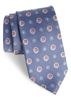 Nordstrom Men's Shop Rurwin Medallion Silk Tie (X-Long)