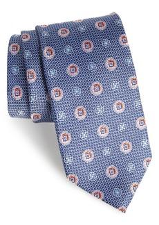 Nordstrom Men's Shop Rurwin Medallion Silk Tie (X-Long)