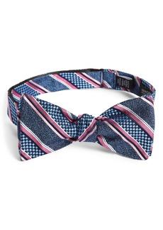 Nordstrom Men's Shop Russel Stripe Silk Bow Tie