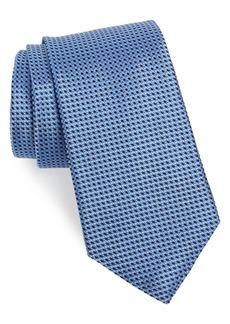 Nordstrom Men's Shop Russo Geo Print Silk Tie
