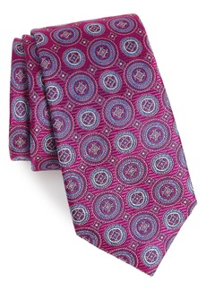 Nordstrom Men's Shop Santa Lucia Circles Silk Tie