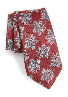 Nordstrom Men's Shop Shaw Floral Silk Tie