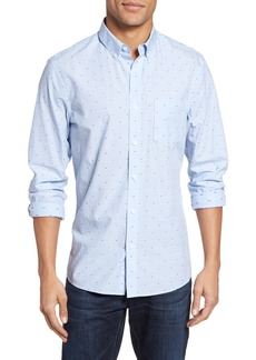 Nordstrom Men's Shop Slim Fit Dobby Sport Shirt