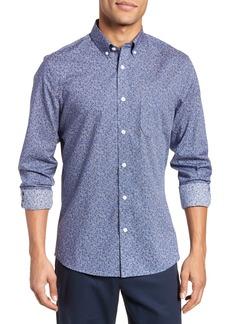 Nordstrom Men's Shop Slim Fit Floral Sport Shirt