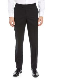 Nordstrom Men's Shop Slim Fit Stretch Wool Tuxedo Dress Pants