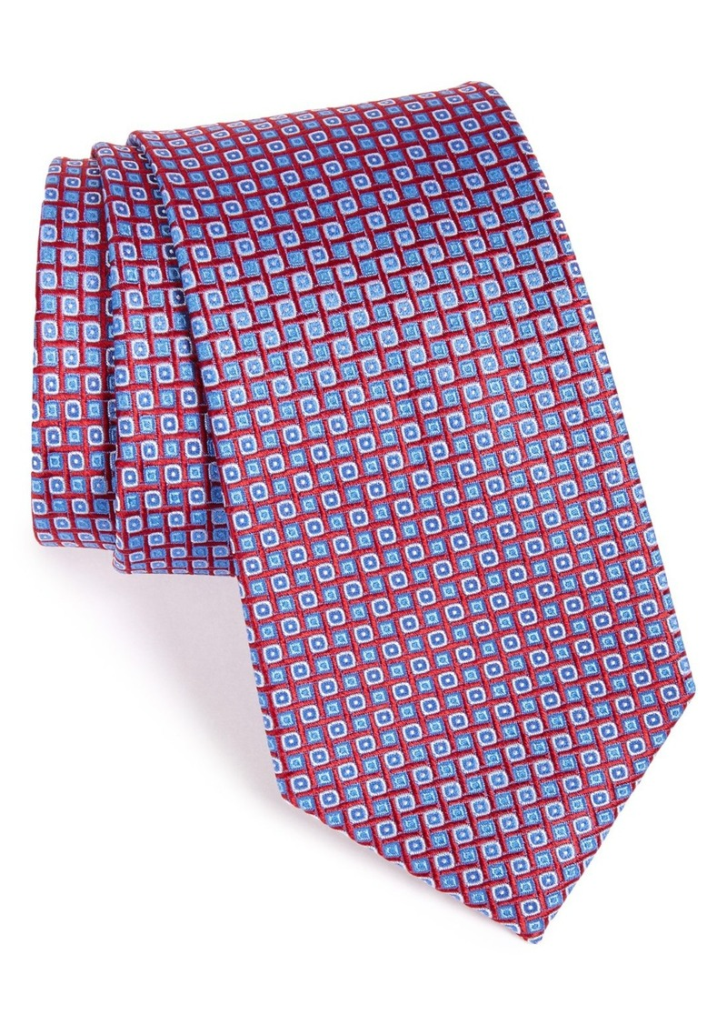 Nordstrom Men's Shop 'Small Neat' Textured Silk Tie