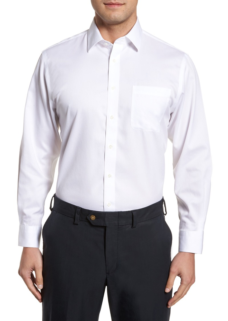 Nordstrom Mens Shop Smartcare™ Traditional Fit Stripe Dress Shirt