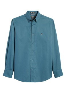 Nordstrom Mens Shop Smartcare™ Traditional Fit Twill Boat Shirt
