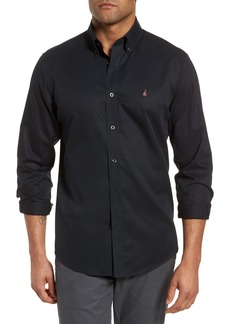 Nordstrom Men's Shop Smartcare™ Traditional Fit Twill Boat Shirt (Regular & Tall)