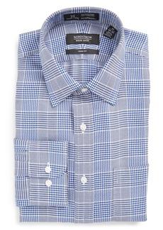 Nordstrom Men's Shop Smartcare™ Trim Fit Graphic Check Dress Shirt