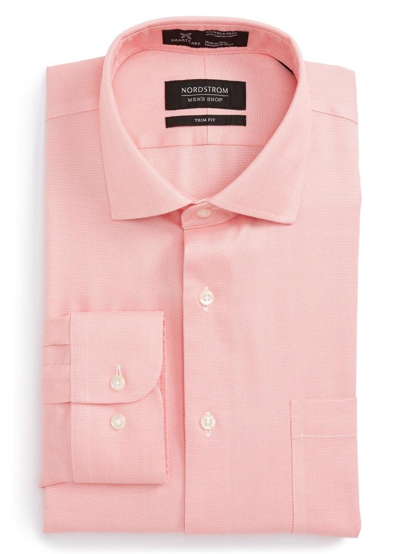 Nordstrom Nordstrom Menu0026#39;s Shop Smartcareu2122 Trim Fit Oxford Dress Shirt