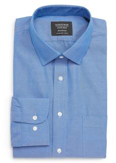 Nordstrom Smartcare™ Trim Fit Solid Dress Shirt